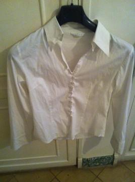 Camisa blanca talla S.