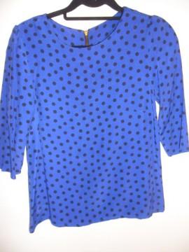 Camisa azul T_M