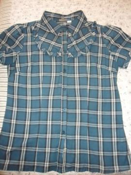 Camisa T-M cuadros