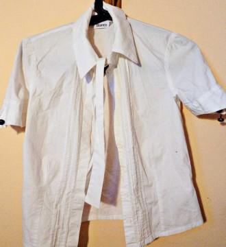 Camisa BLANCO a juego con vestido lápiz