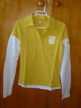 Camiseta amarilla, talla M