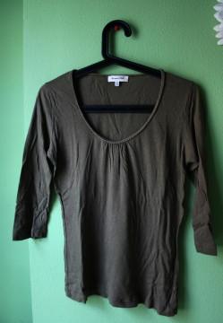 Camiseta verde massimo dutti