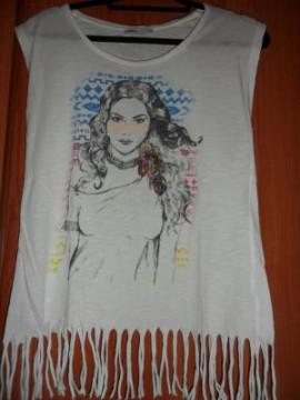 Camiseta hippie T-M