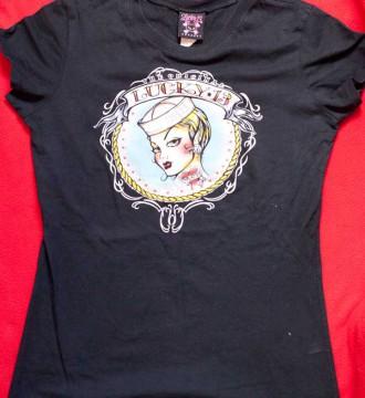 Camiseta Lucky 13 tattoo
