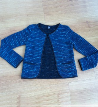 Chaqueta de tweed de Zara Kids