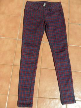Pantalones de cuadrados T-36
