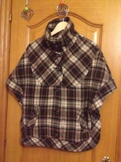 Abrigo Capa talla S