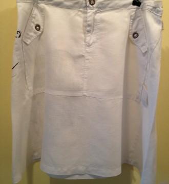 Falda de lino de Coronel Tapioca