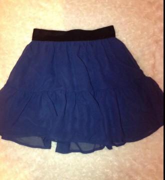 Mini falda con terciopelo
