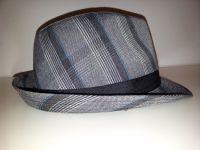 sombrero de cuadros