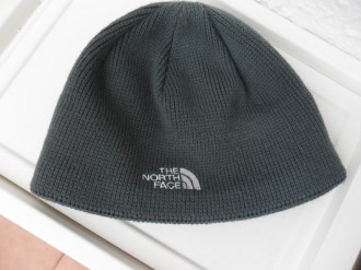 gorrito gris  the north face