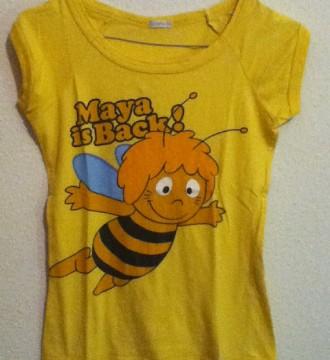 VENDO(7€)Camiseta Abeja Maya PULL&BEAR