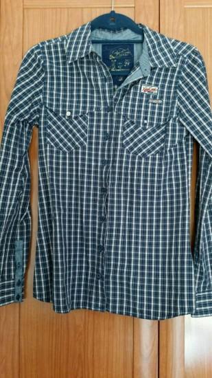 Camisa cuadros T-M