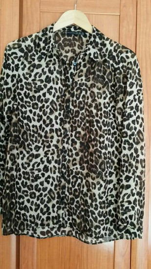 Camisa Leopardo T-S (Grande)