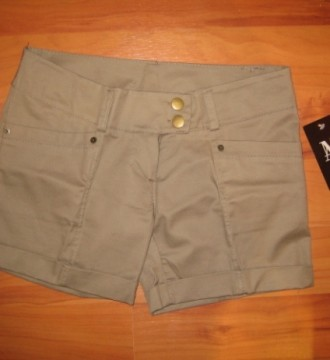 Shorts marrón nuevos con etiqueta
