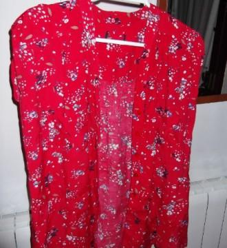 Blusa Blanco con estampado floral