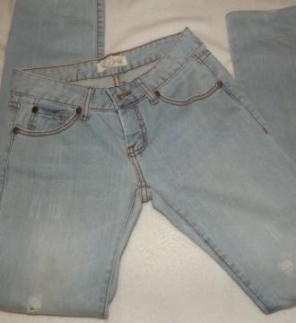 Pantalones vaqueros Blanco rotos