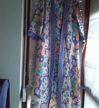 vestido tipo kaftan