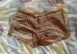 Shorts leopardo beige sexy Pimkie