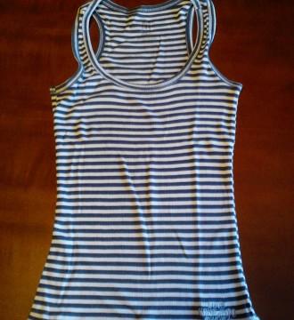 Camiseta nadadora marinera Bershka