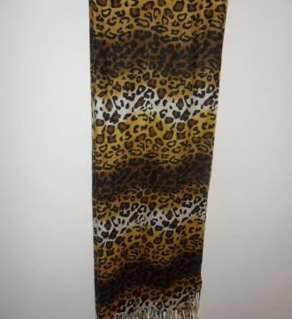 Pañuelo con estampado leopardo