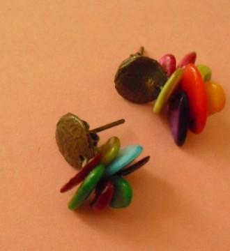 Pendientes colorines