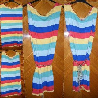 Vestido multicolor H&M