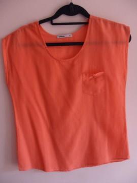 camisa T-M salmón