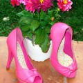 PIN UP TACONES FUCSIAS TALLA 38