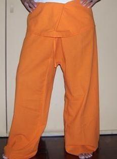 Pantalón thai naranja