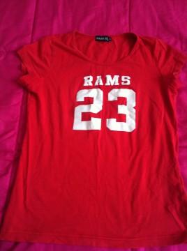 Camiseta Rams 23. Talla S.