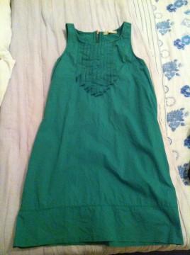 Vestido verde.