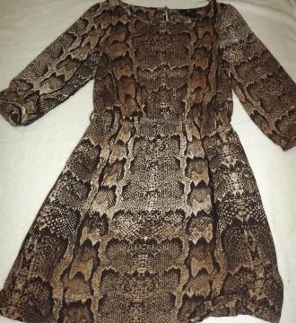 Vestido HM talla XS estampado Serpiente