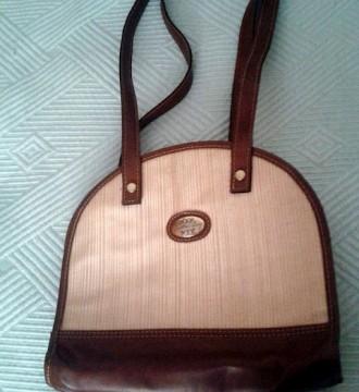 Bolso vintage de color marrón