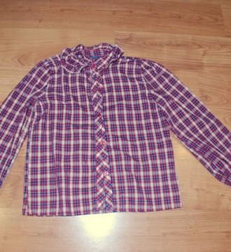 Camisa de cuadros vintage talla S-M