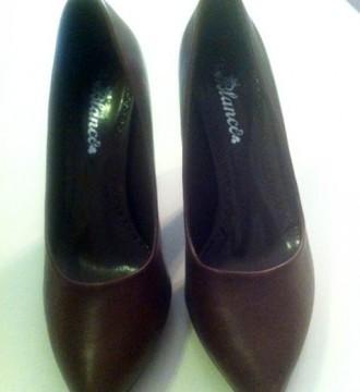 Zapatos Blanco marrones T40