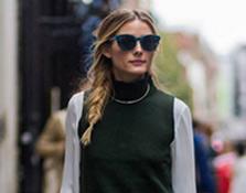 Londres: Olivia Palermo y su look de Zara