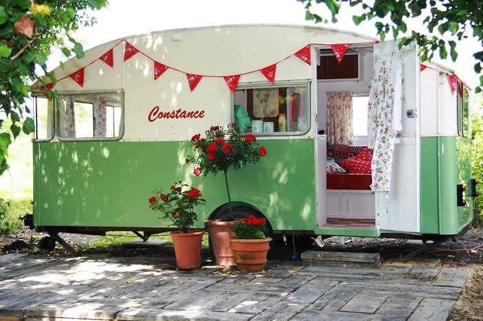 Alquila una caravana vintage para tu boda