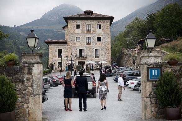 Entrada al Palacio de Rubianes
