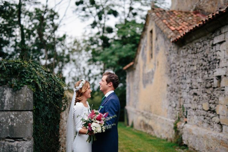 La boda en el norte de Marta y Toño