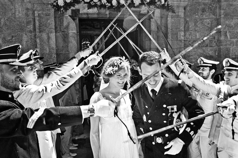 Una boda muy romántica