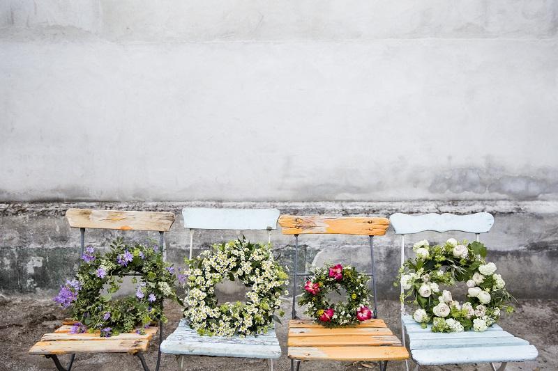 Las coronas de El Invernadero Flores & Diseño