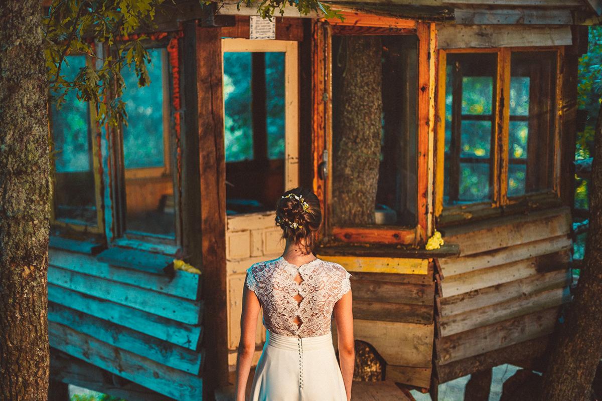 Los vestidos de novia sostenibles de Ernesto Terron