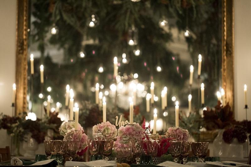 La cena de nuestra boda