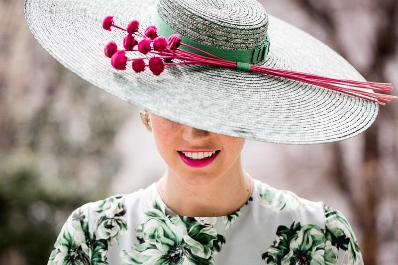 Look floral para ser la invitada perfecta