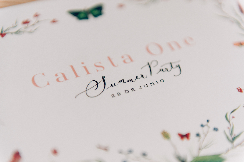 Calista one summer party 2017