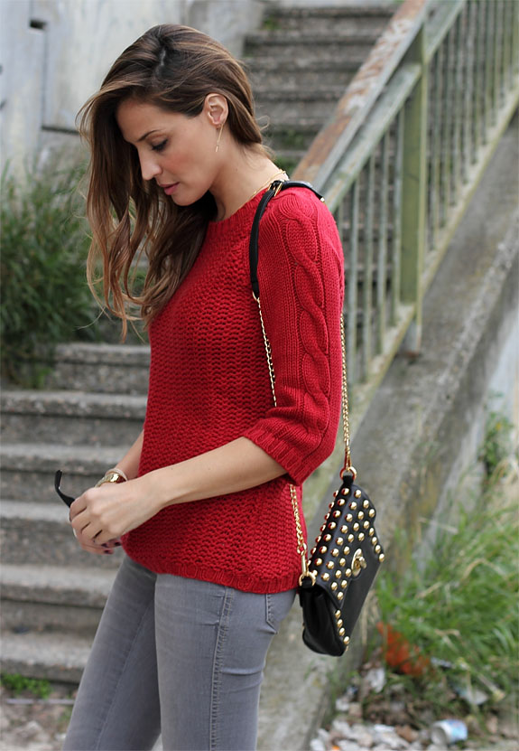 new red jumper - lady addict-50826-ladyaddict
