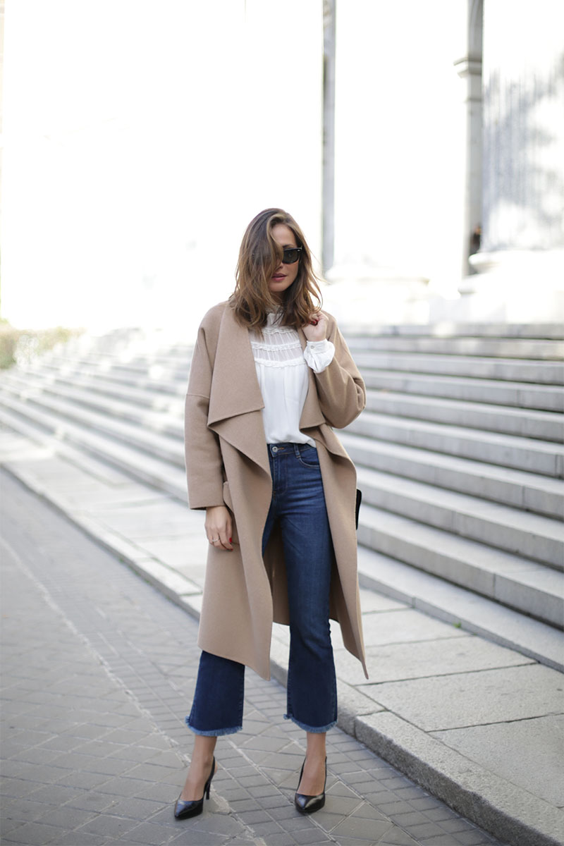 lovely camel coat