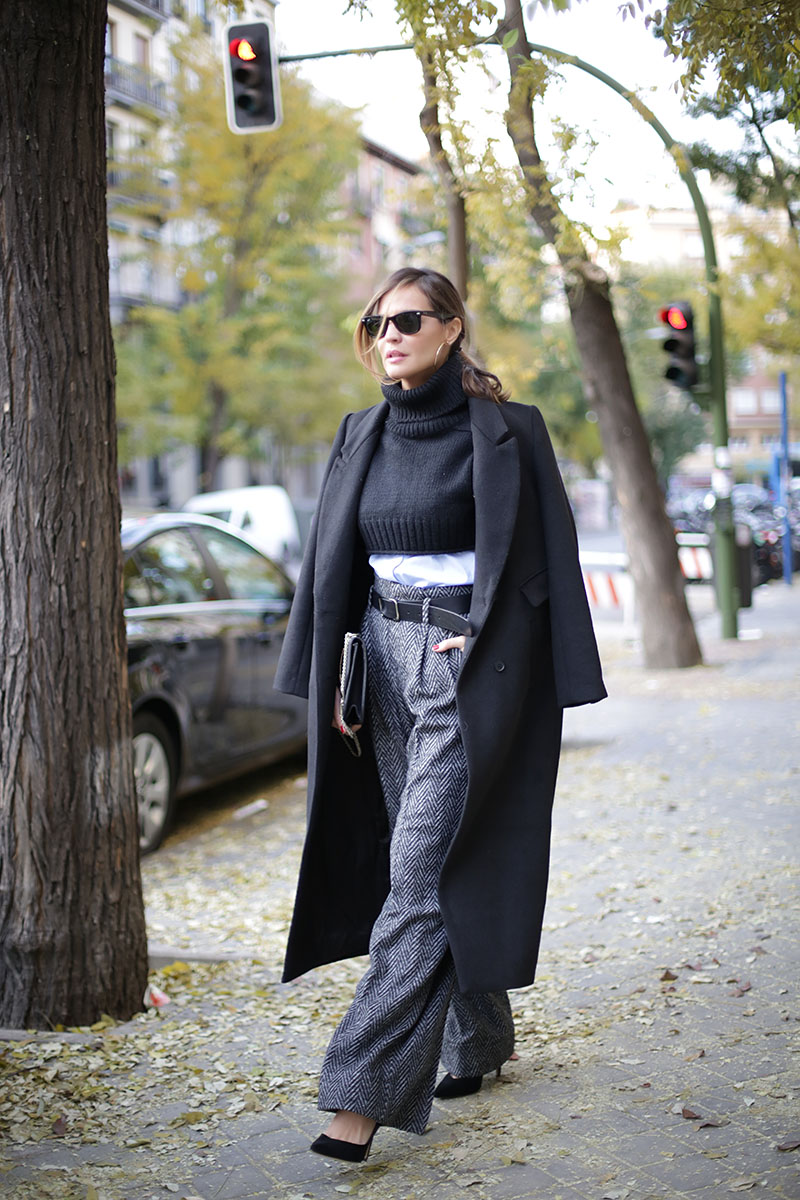 long black coat