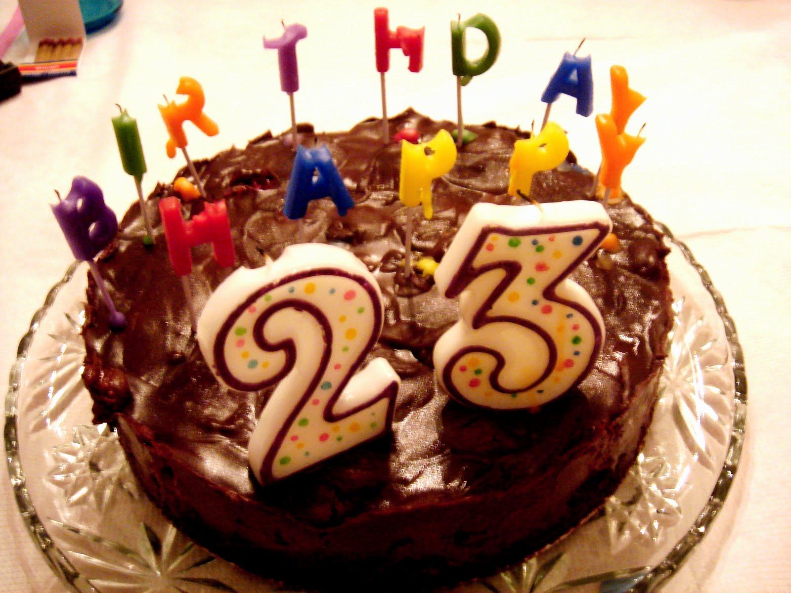 Поздравления с 23-летием дня рождения